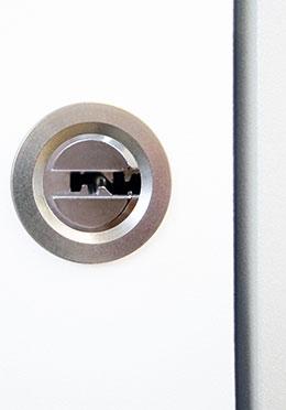 Moderne optionale biometrische Türöffnung