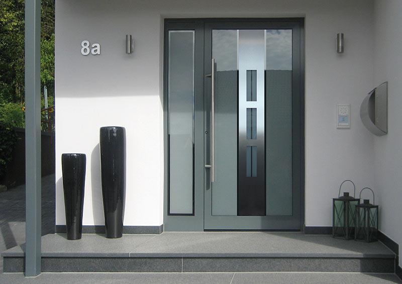 Wohnungseingangstüre und Haustüre in anthrazit kaufen in Sindelfingen