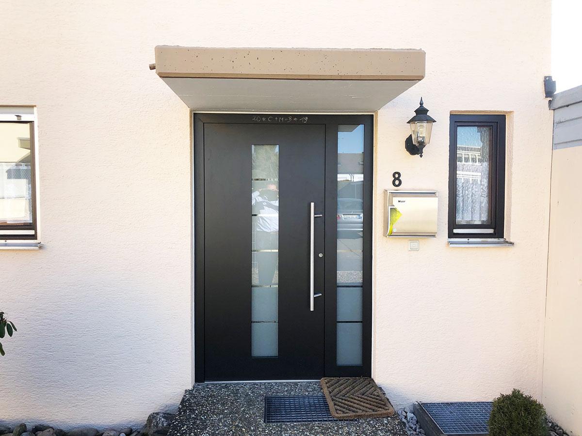 Alu Haustür in anthrazit in Böblingen kaufen