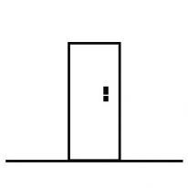 Haustüre ohne Seitenteile kaufen