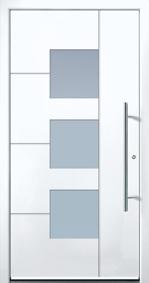 Aluminium Haustür in anthrazit in Böblingen kaufen