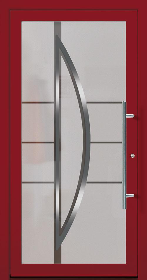 Aluminium / Alu Haustüre rot kaufen in Böblingen