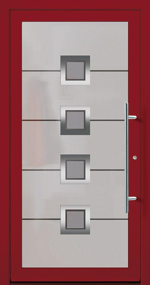 Aluminium / Alu Haustüre rot kaufen in Esslingen