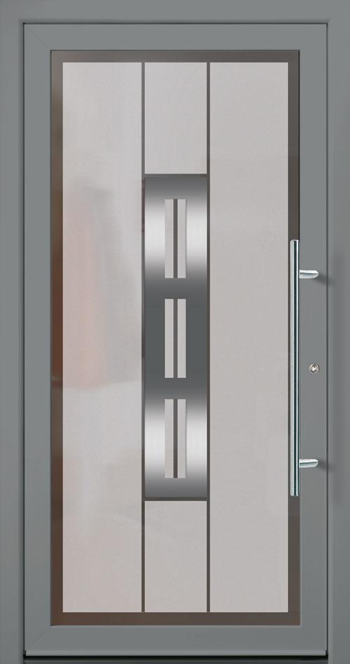 Haus Türe und Nebeneingangstüre in anthrazit kaufen in Esslingen
