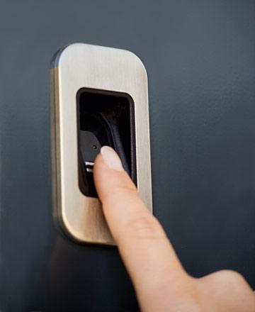 Haustüre mit Fingerscanner kaufen in Calw