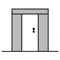 Türe mit Oberlichter Aluminium kaufen